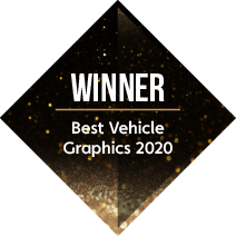 Signs Express Best Vehicle Graphics Winner 2020