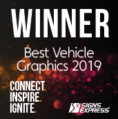 Signs Express Best Vehicle Graphics Winner 2019