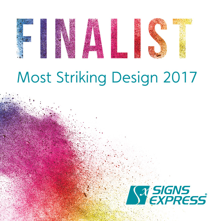 Signs Express Most Striking Design Or Sign Finalist 2017