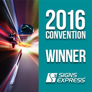 Signs Express Convention Award Winner 2016