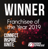Signs Express Franchisee Of The Year 2019