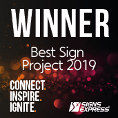 Signs Express Best Sign Project Winner 2019