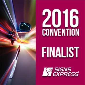 Signs Express Convention Award Finalist 2016