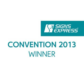 Signs Express Convention Award Winner 2013