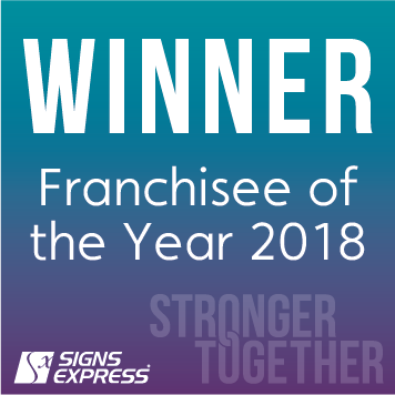 Signs Express Franchisee Of The Year 2018