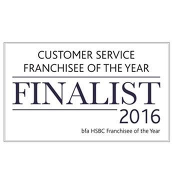 Bfa HSBC Customer Service Franchisee Of The Year Finalist 2016