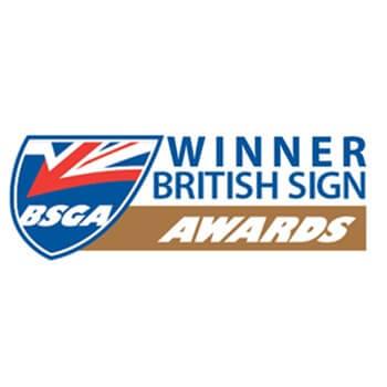 British Sign Awards Winner 2015