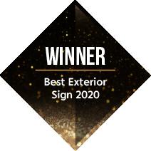 Signs Express Best Exterior Sign Winner 2020
