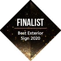 Signs Express Best Exterior Sign Finalist 2020