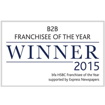 Bfa HSBC B2B Franchisee Of The Year Winner 2015