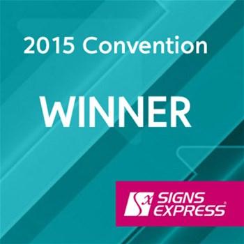Signs Express Convention Award Winner 2015
