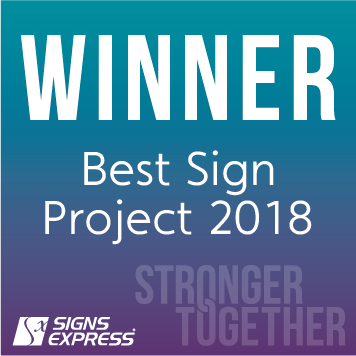 Signs Express Best Sign Project Winner 2018