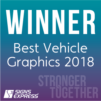 Signs Express Best Vehicle Graphics Winner 2018