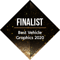 Signs Express Best Vehicle Graphics Finalist 2020