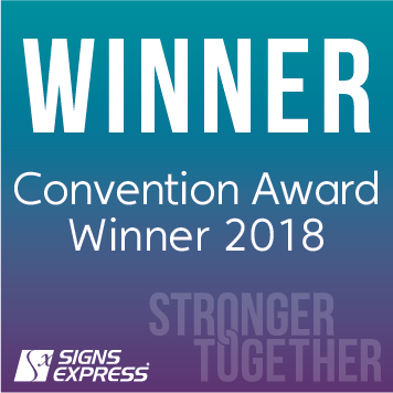Signs Express Convention Award Winner 2018