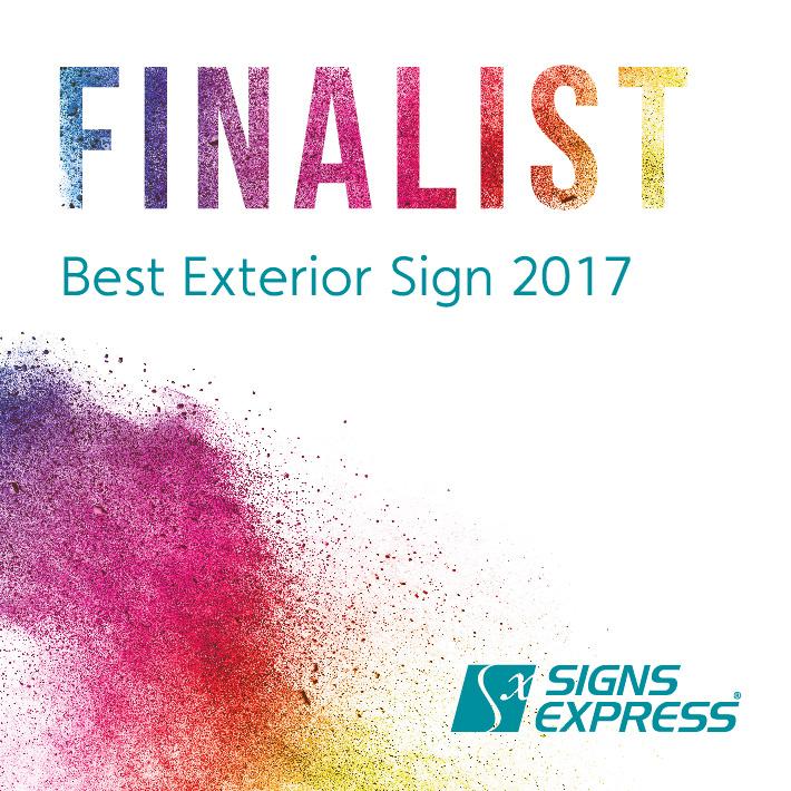 Signs Express Best Exterior Sign Finalist 2017