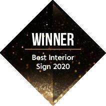 Signs Express Best Interior Sign Winner 2020