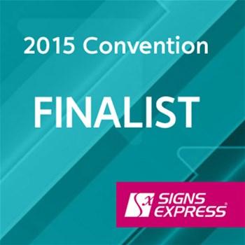 Signs Express Convention Award Finalist 2015