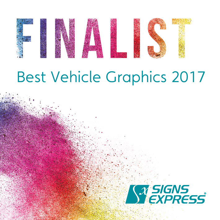 Signs Express Best Vehicle Graphics Finalist 2017