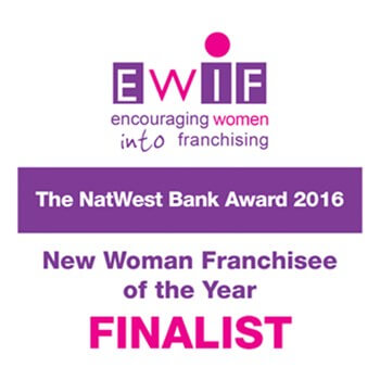 EWIF New Woman Franchisee Of The Year Finalist 2016