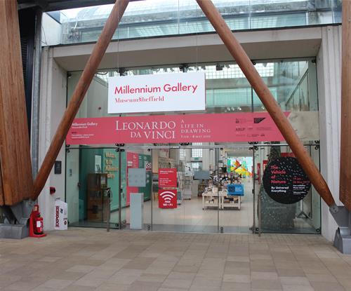Millennium Gallery signage