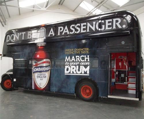 Striking full bus wrap by award-winning Signs Express (Bedford)