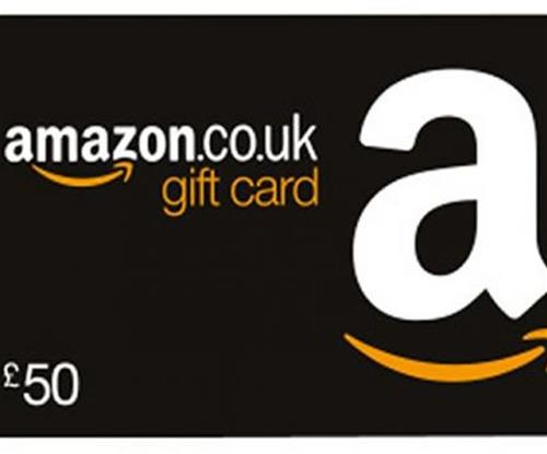 Chance to win a £50 Amazon Voucher