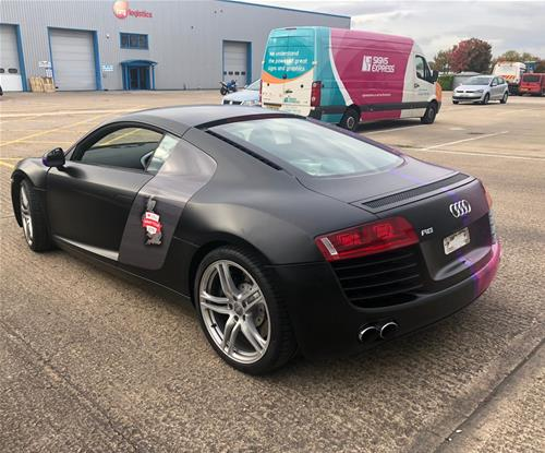 Signs Express Northampton Wrap an Audi R8