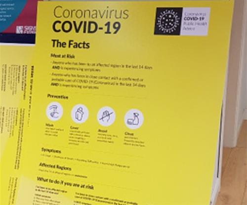 Coronavirus Notice Board