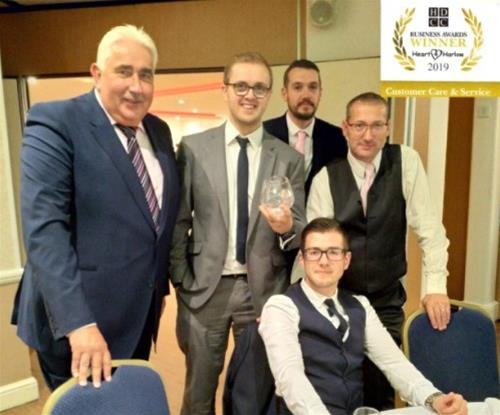 Signs Express (Harlow) award for Customer Care & Service