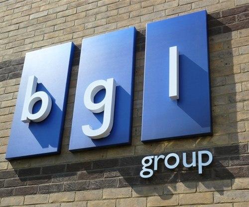 The BGL Group, Peterborough exterior 3D sign