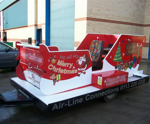 Retail Christmas Vehicle Graphics by Signs Express