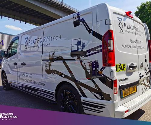 Vehicle Graphics in Avonmouth