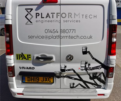 Platformtech Van Graphics Avonmouth