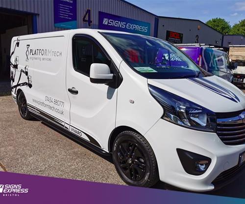 Van graphics Avonmouth