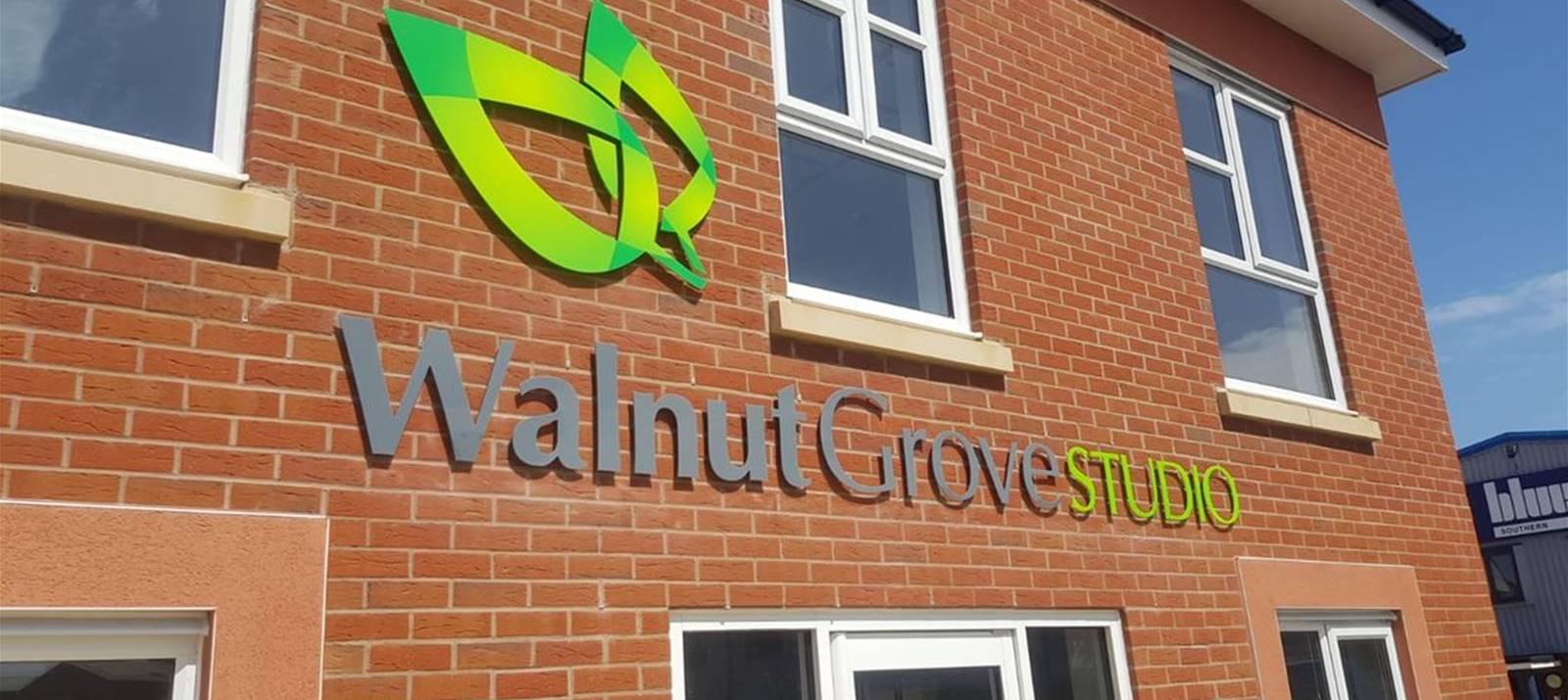Walnut Grove Exterior Signage