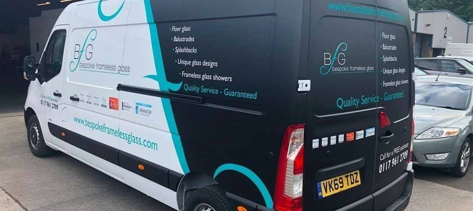 Van wrapping Bristol