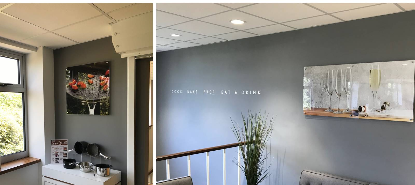 Interior signs and graphics from Signs Express