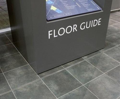 Gateshead College directional floor plan
