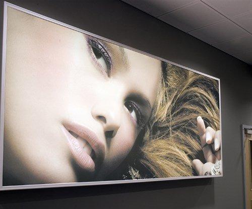 Gateshead College large format printed wall art