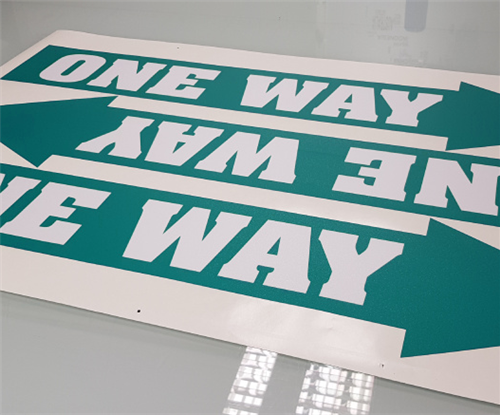 One-way arrows