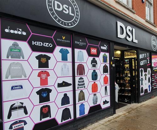 Shop Signs & Window Graphics