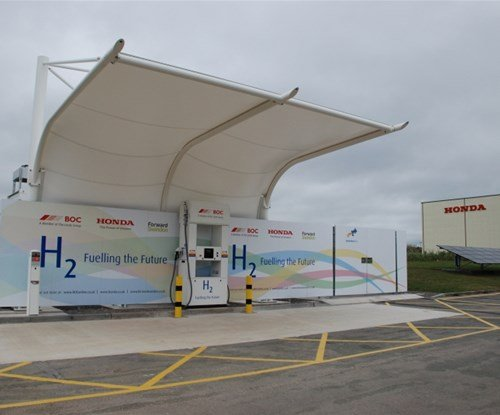 Honda BOC refuelling station
