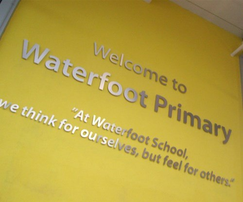 The New Waterfoot Primary School