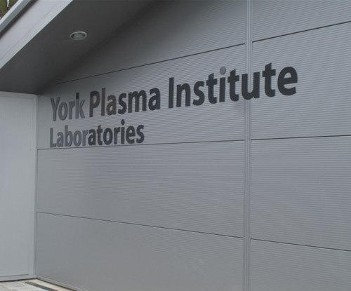 Signs Express - University of York Plasma Institute - External Letters