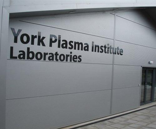 Signs Express - University of York Plasma Institute - External Lettering