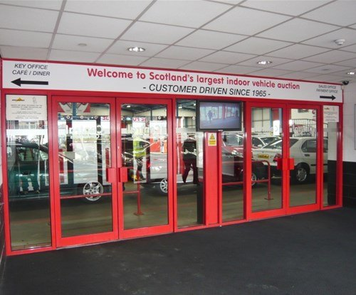 Entrance Foyer Header panels & Window Graphics
