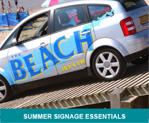 Summer Signage Essentials