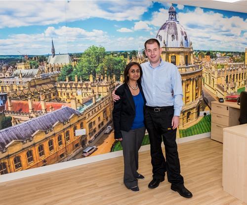 Priya and Ian Lawry, Directors of Signs Express