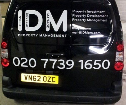 IDM Rear wrap and graphics